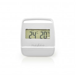 Nedis Thermometer Hygrometer Indoor White
