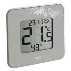 TFA STYLE - Digitale Thermo-Hygrometer Wit